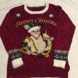 United States Sweaters Merry Christmas Sweater (M)